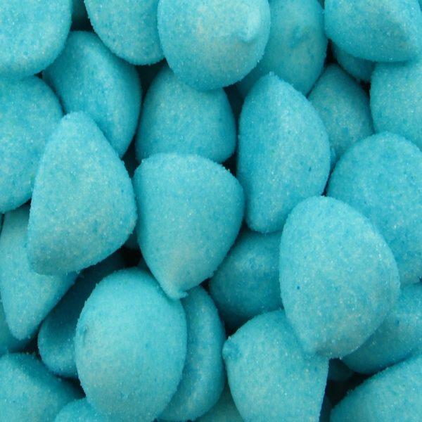 Blue Marshmallow Paintballs Retro Sweets