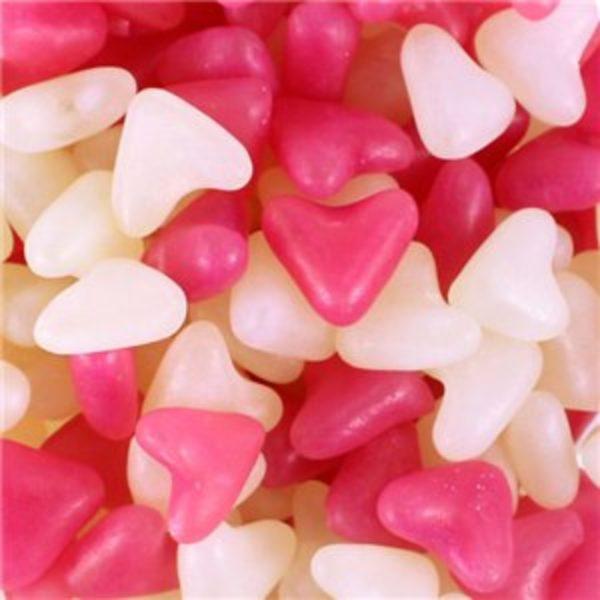 Love Heart Shaped Jelly Beans Retro Sweets