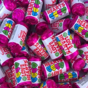 Swizzels Mini Love Hearts Retro Sweets