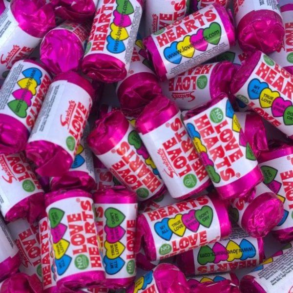 Swizzels Mini Love Hearts Retro Sweets