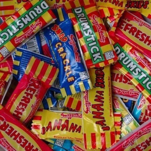 Swizzels Mini Chew Bars Retro Sweets