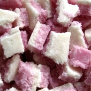 Coconut Ice Or Raspberry Coconut Crumble Retro Sweets