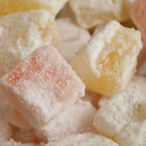 Turkish Delight Retro Sweets