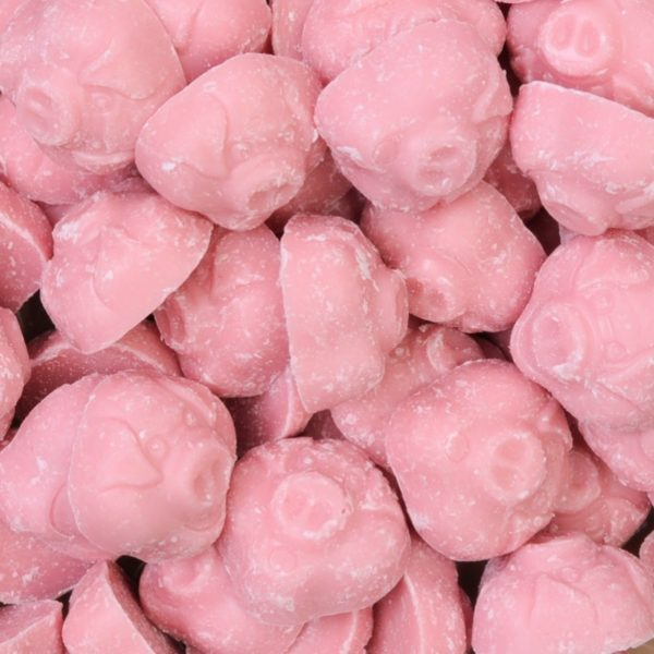 Porky Pigs Or Pink Pigs Chocolates Retro Sweets