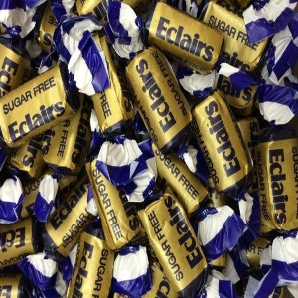 Sugar Free Chocolate Eclairs Retro Sweets