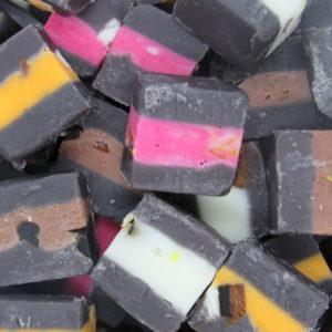 Liquorice Allsorts Fudge Retro Sweets