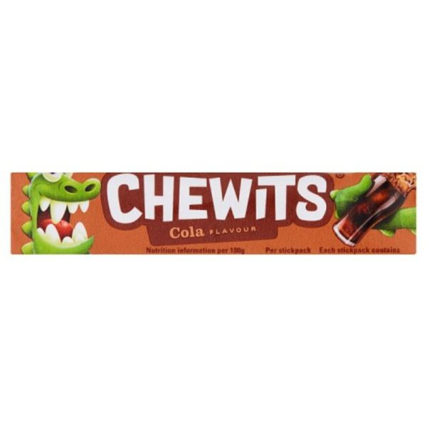 Cola Chewits Retro Sweets