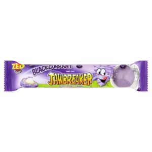 ZED Candy Blackcurrant Jawbreakers Retro Sweets