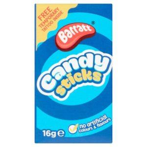 Barratt Candy Sticks Retro Sweets