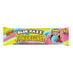 ZED Candy Blue Razz Jawbreakers Retro Sweets