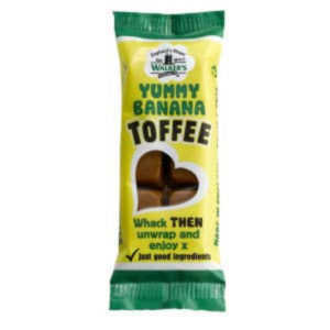Walkers Nonsuch Yummy Banana Toffee Bar Retro Sweets