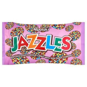 Hannahs Chocolate Jazzles Retro Sweets