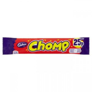 Cadbury's Chomp Chocolate Bar Retro Sweets