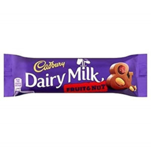 Cadburys Dairy Milk Fruit And Nut Chocolate Bar Retro Sweets
