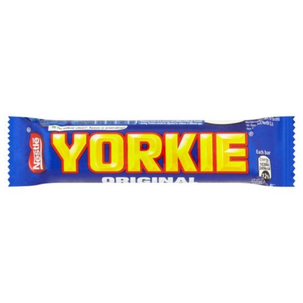 Yorkie Bar Chocolate Bar Retro Sweets