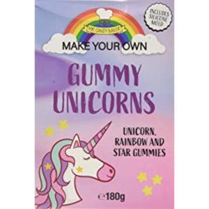 Make Your Own Gummy Unicorns Kit Christmas Sweets