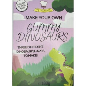 Make Your Own Gummy Dinosaurs Kit Christmas Sweets