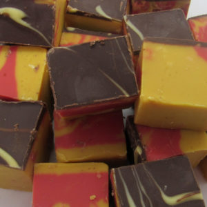 Christmas Marzipan Fudge Christmas Sweets