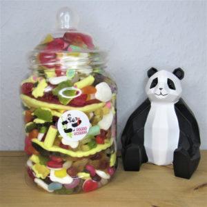 Large Haribo Sweet Jar Retro Sweets