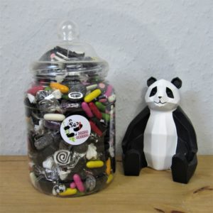 Large Liquorice Sweet Jar Retro Sweets