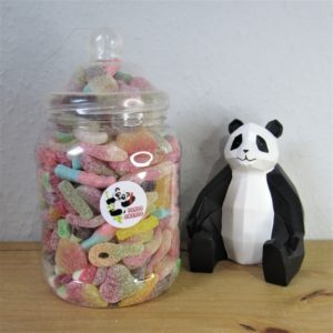 Large Fizzy Jelly Sweet Jar Retro Sweets
