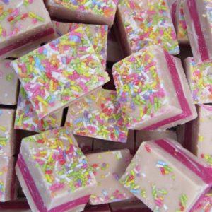 Birthday Cake Fudge Retro Sweets