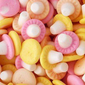 Swizzels Fun Gums Giant Mushrooms Retro Sweets