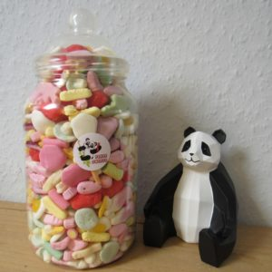 Extra Large Foam Retro Sweet Jar