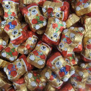 Milk Chocolate Christmas Teddy Bears Christmas Sweets